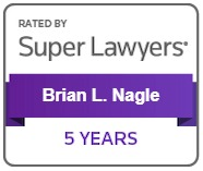 Brian Nagle Rated by Super Lawyers 5 Years