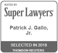 Patrick J. Gallo, Jr. selected rising star 2018