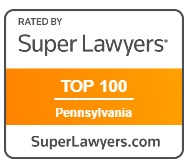 Rated Super Lawyers Top 100 PA
