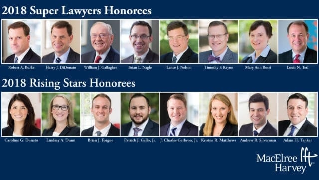 2018 Pennsylvania Super Lawyers