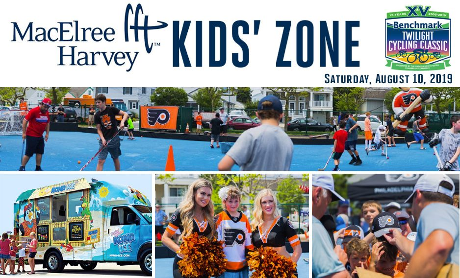 Flyers Community Caravan sponsored by MacElree Harvey, Ltd.at theBenchmark Twilight Cycling Classicon Saturday, August 10, 2019